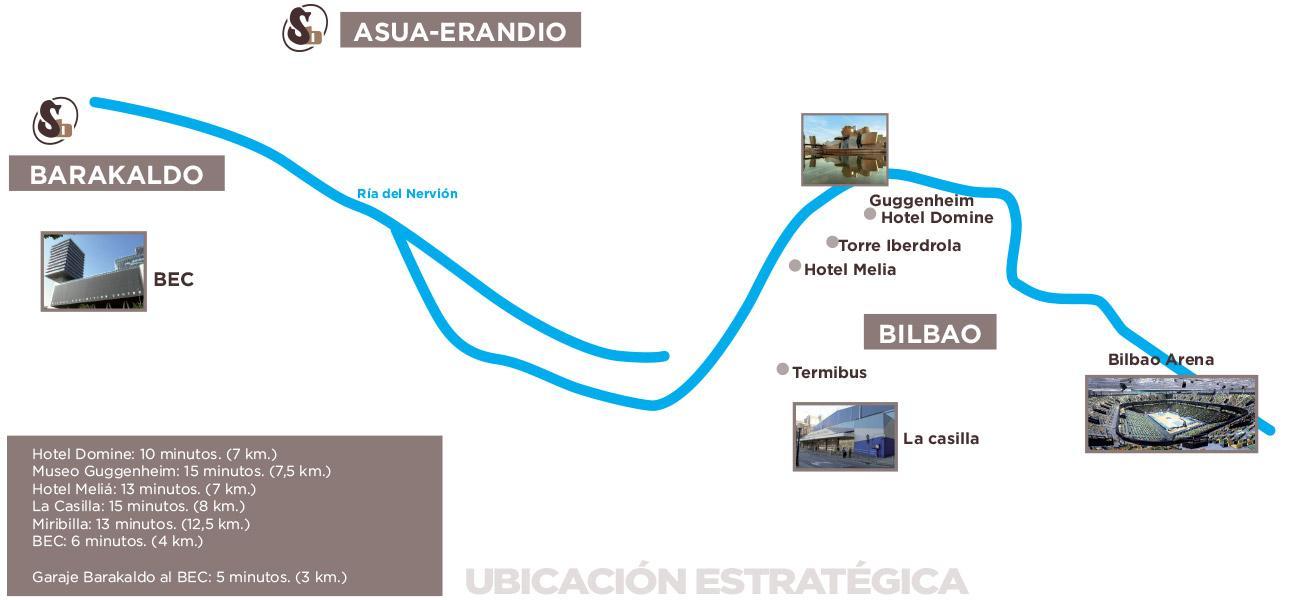 mapa ubicaciones autobuses soleto