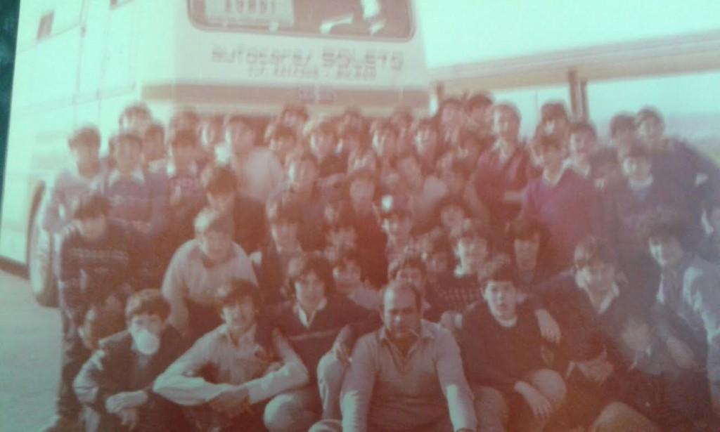 Excurison Salesianos 1979